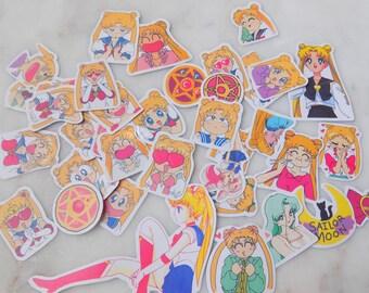 Sailor Moon 33pc Sticker Pack