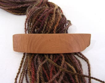 Medium Wooden Barrette, Red Elm, lifetime guarantee, NO GLUE, long thick hair, french hair clip, natural hair accessory, hair jewelry