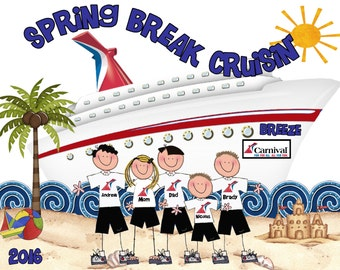 Carnival Valor Cruise Vacation Shirt October 7 Group Shirt