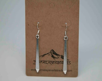 Silver plated earrings/light weighted earrings