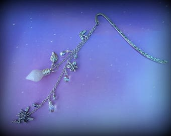 Glowing Magical Fairy Lantern Bookmark or Rearview Mirror Charm Glow in the Dark