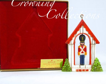 1976 Hallmark Twirl About Soldier Keepsake Ornament Nostalgia YesterYears Christmas Collection Tree Trimmers Vintage