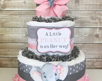 Handcrafted Diaper Cakes Baby Shower By AllDiaperCakes On Etsy