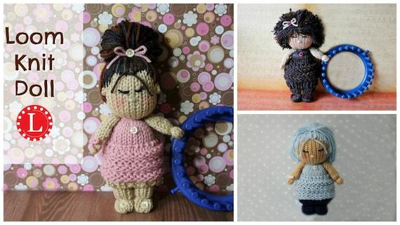 Amigurumi Knitting Tutorial : Loom knitting patterns tiny kitty cat amigurumi toys