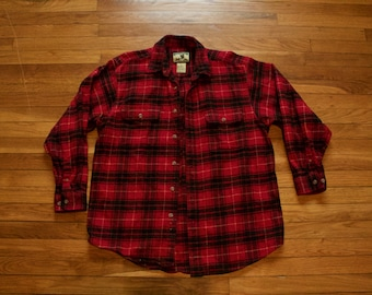 Field and Stream Plaid Shirt