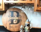 Bourbon Barrel Head/Monog...