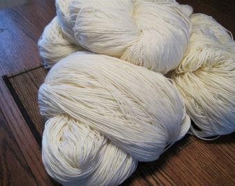 BULK* 100% Super Soft Merino Wool Yarn (6 LB) Sport Weight (undyed) *BULK