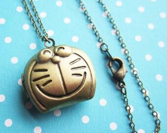 Collier médaillon de Doraemon