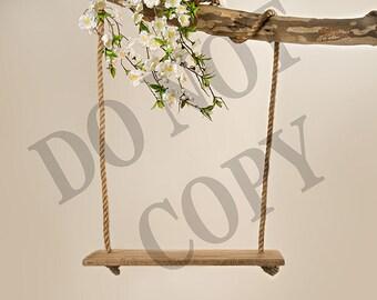 Dogwood floral Swing Digital file