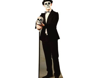 Day of The Dead Man Life-Size Cardboard Cutout