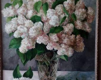 snow-white lilac