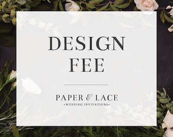 Proof before Purchase Design Fee