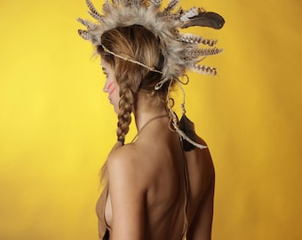 Iroquois headdress