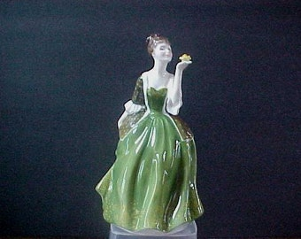 """Royal Doulton Fleur  HN2368  7-1/4"""" tall   Mint condition, no chips, scratches, repairs or crazing"""