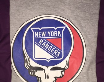 Grateful Dead New York Rangers t shirts