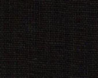 Hanky Linen - Black - 56 inch x 1/2yd