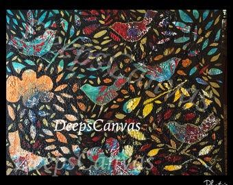 Print of Chirp! Chirp! Autumn's Coming