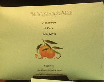 Natures Cupboard Orange Peel & Oats Facial Mask