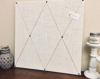 "24""x24"" Cork Board Message Board, Pin Board, Customized Bulletin Board, Office Decor, Fabric Message Board, Memo Board, Calender, Corkboard,"