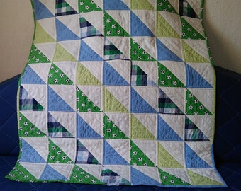 Handmade Quilt for Baby Boy