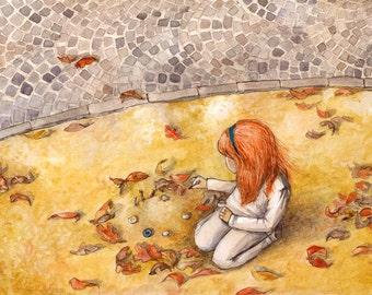 Autumn Sun. Limited Edition Fine Art Print