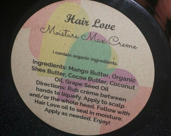 Hair Love's signature daily moisturizing cream! Light, moisurizes with a small amount, leaves your hair soft and managable!