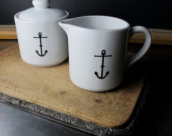 Anchor Sugar and Creamer Set