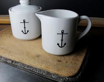 Anchor Sugar and Creamer Set