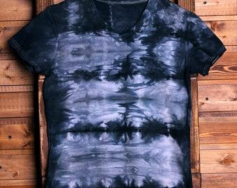 Women's tie-dye t-short size S, tie dye cotton short