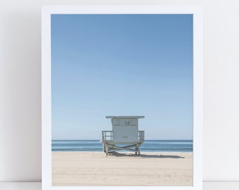 Beach Print, Coastal Decor, Large Wall Art, Instant Download, Summer Portrait, Sea Photography, Ocean Wall Decor, Home Decor,Beach Hut Cabin