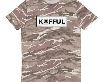 KAFFUL Short-sleeved camouflage t-shirt by El Carna