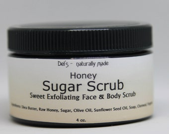 Honey Sugar Scrub