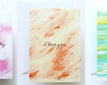 3 Greeting Cards