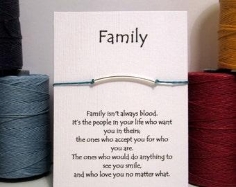 Family  Wish Bracelet