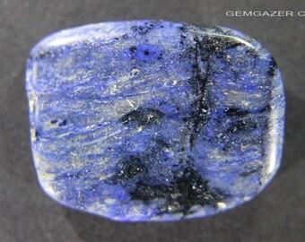 Dumortierite polished specimen, Africa.  37.85 carats.