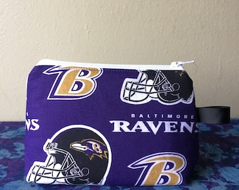 Notions Bag- Baltimore Ravens