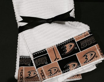 Anahiem Ducks Hand Towels