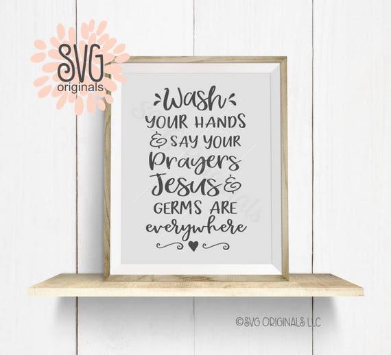 Waschen Sie Ihre Hände SVG-Datei. Cricut erkunden und vieles