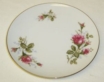 Sango China Japan MOSS ROSE 6 Inch Dessert or Bread and Butter Plate