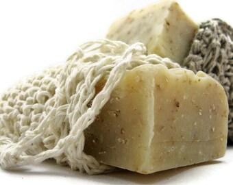 Hemp Soap Sack Beginner Crochet Pattern - Soap Bag Pattern - Soap Saver Crochet Pattern