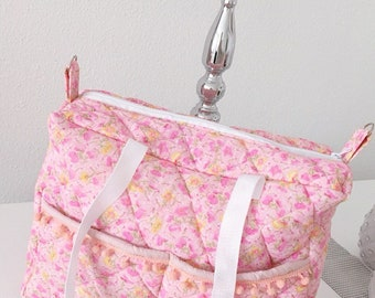 Diaper bag quilted