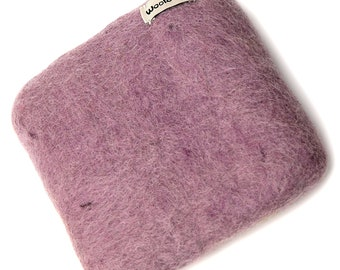Woolbuddy Needle Felting 100% Woolen Mat (Lavender Purple)