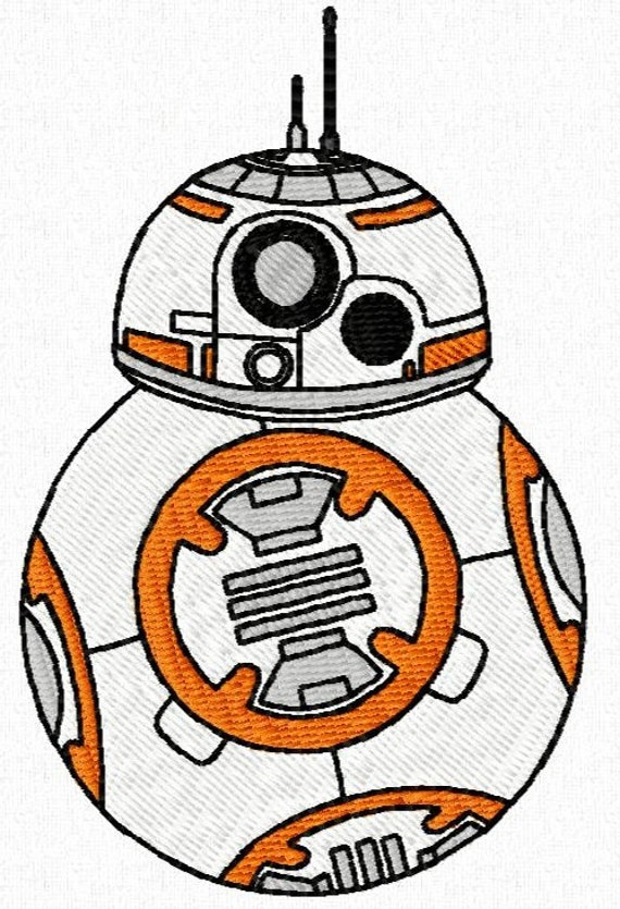40 Star Wars Episode 7 Machine Embroidery Design Files 4x4 With