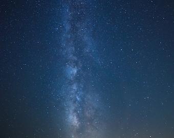 Milky Way + Assatague Island Lighthouse