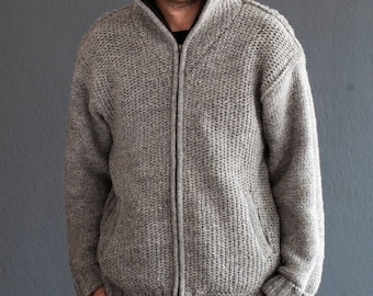 Boulder Wool Sweater with Fleece Lining