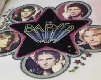 Vintage The Baby's Iron On Transfer
