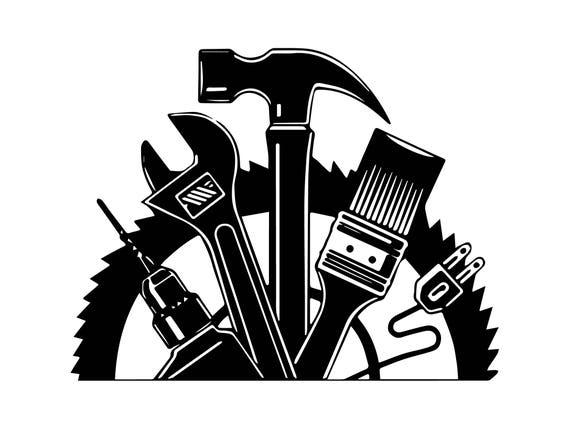 Wrench Hammer Screwdriver Repair Fix Handyman Hardware Tool