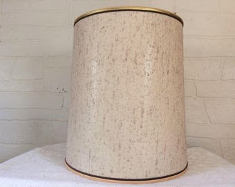 Mid Century Lampshade Drum Lamp Shade Large Drum lampshade Retro Lampshade Table Lamp Shade Large Lamp Shade Retro Lamp Shade 60s Decor