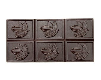Professional Polycarbonate Mold for Chocolate (Cacao Pod Bar Design)
