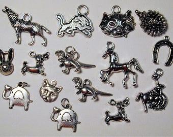 Animal Charm Collection 15pc.  C159